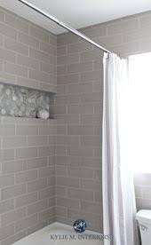 unser badezimmer remodel greige u bahn fliesen und mehr