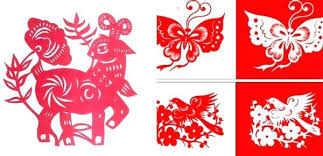 Flower Paper Cutting Designs Chinese Templates Template Cut