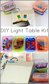 Magna Tiles Amazon Uk by Diy Light Table Kit And Next Comes L
