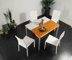 Creative Furniture Orlando White And Orange Dining Table