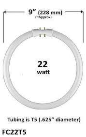 22w t5 circular circline fc9t5 fc22t5 elightful canada