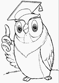 Picture Of An Owl To Color
