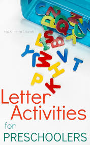 You Just Need One Set Of Letters For These Fun Alphabet Activities Preschoolers