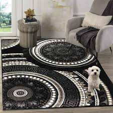 teppich 206 black diyez siela quadratisch höhe 8 mm teppich wohnzimmer schwarz kurzflor
