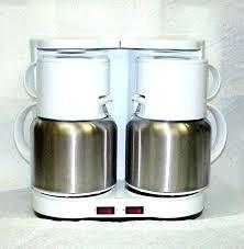 Hamilton Beach Dual Coffee Makers Maker Carafe Boiler Machine