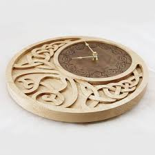 Free Wood Clock Plans by 189 Best Laser Cut Clocks Images On Pinterest Laser Cutting