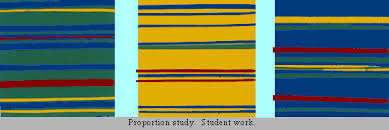 Color Proportion Refers To The Impact Of Relative Quantity A Given Hue Or Value Used In Compositions Order Achieve Over All Unity