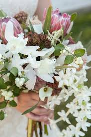 White Fall Wedding Bouquets Bouquet Blueprint Tropical