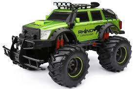 100 New Bright Rc Truck Gizmo Toy 4x4 Rhino Expeditions Full Function RC Vehicle
