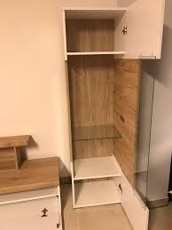 wohnzimmer wohnwand gebraucht 4 teilig