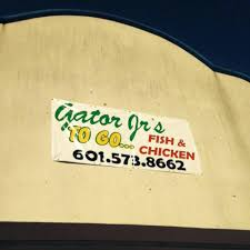 Gator Jr s to Go Home Jackson Mississippi Menu Prices