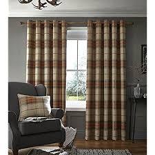 Amazon Uk Living Room Curtains by Burnt Orange Curtains Amazon Co Uk