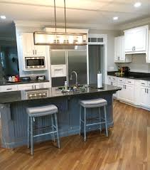 Johnson's White & Grey Painted Cabinets In Peachtree City ...