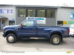 2008 Ford F350 Super Duty XL Regular Cab 4x4 Dually In Dark Blue ...