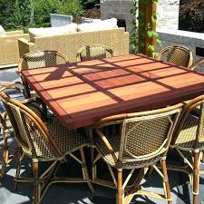 Rustic Outdoor Dining Furniture Handmade Table By Mark