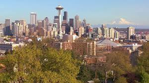 100 Beautiful Seattle Pictures Establishing Shot Of Washington On A Sunny Day