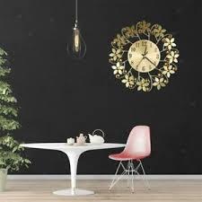 35cm luxus stil metall wohnzimmer wanduhr vintage moderne
