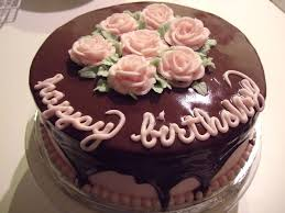 Chocolate Birthday Cakes With Roses Party Themes Inspiration