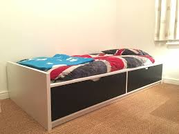 comfortable ikea bed with storage modern storage twin bed design