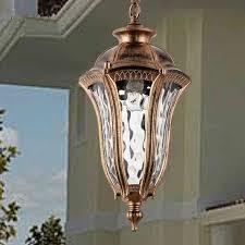 american vintage bronze aluminum e27 led bulb waterproof outdoor