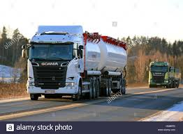 SALO, FINLAND - JANUARY 5, 2017: White Scania R580 Bulk Transport ... Ngulu Bulk Carriers Home Transportbulk Cartage Winstone Aggregates Stephenson Transport Limited Typical Clean Shiny American Kenworth Truck Bulk Liquid Freight Cemex Logistics Cement Powder Transport Via Articulated Salo Finland July 23 2017 Purple Scania R500 Tank For Dry Trucking Underwood Weld Food January 5 White R580 March 4 Blue Large Green Truck Separate Trailer Transportation Stock Drive Products Equipment