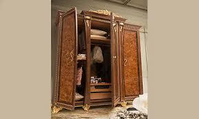 klassischer schlafzimmerschrank mit spiegel nussbaum wurzelholz stil italienisch ebay