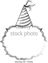 Birthday hat decoration Stock Image