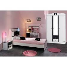 chambre complete enfant pas cher last meubles chambre complète lola armoire 3p lit chevet