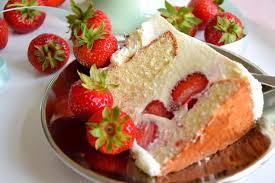 erdbeer torte mit weißer schokolade