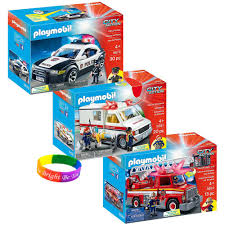 PlayMobil - KTPM86699 - 3 In 1 Ultimate First Responder Kit With ... Playmobil 4820 City Action Ladder Unit Amazoncouk Toys Games Exclusive Take Along Fire Station Youtube Playmobil 5682 Lights And Sounds Engine Unboxing Wz Straacki 4821 Md With Rescue Playset Walmart Canada Toysrus Truck Emmajs Airport Sound Saves Imaginext Batman Burnt Batcopter Dc Vintage Playmobil 3182 Misb Ebay