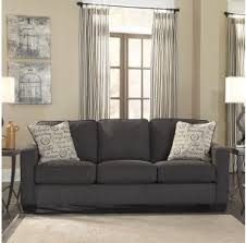 Makonnen Charcoal Sofa Loveseat by Stationary Sofas Sacramento Rancho Cordova Roseville California
