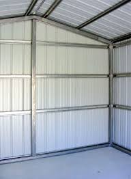 10x20 Metal Storage Shed by Metal Garages Sheds And Storage Buildings Custom Built For You
