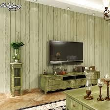 beibehang nostalgischen retro mittelmeer holz vlies tapete schlafzimmer wohnzimmer tv gestreifte tapete grün blau grau