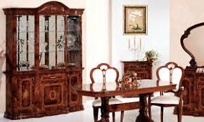 details zu vitrine wohnzimmerschrank nussbaum hochglanz glas holz klassisch italienisch
