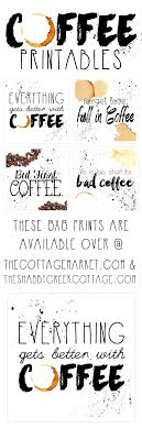 Free Printable Art The Coffee Collection