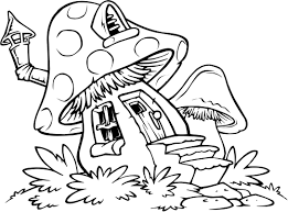 Nice Coloring Pages Houses 7