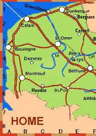 The best MAP for your travels in North France