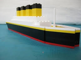 lego titanic inspiration the rms titanic which famously sunk