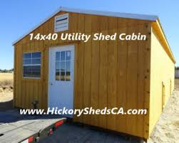 old hickory sheds cabins nor cal