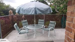 Namco Patio Furniture Covers by Namco Outdoor Dining Set Trade Me