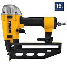 Central Pneumatic Floor Nailer User Manual by Dewalt Pneumatic 16 Gauge 2 1 2 In Nailer Dwfp71917 The Home Depot