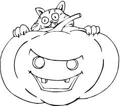 Hello Kitty Happy Halloween Coloring Pages by Free Printable Pumpkin Coloring Pages For Kids