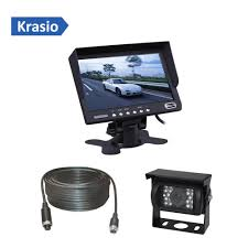 100 Truck Camera System Car Bus Rear View System With LCD Monitor 7 Inch For