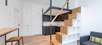100 Mezzanine Design Floor Build Stairs And Storage Studio Flat