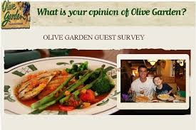 Win $1000 in Olive Garden Survey Sweepstakes for Guest