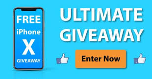 Win free Apple iPhone X Giveaway December 2017