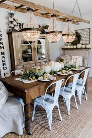 100 Rustic Farmhouse Dining Room Decor Ideas 94