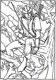 27 Robin Hood Coloring Pages 18 Free
