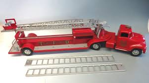 Tonka Hook & Ladder Fire Truck TFD No. 5 Pressed Steel Toy 1950s ... Structo Fire Truck Hook Ladder 18837291 And Stock Photos Images Alamy Hose And Building Wikipedia Poster Standard Frame Kids Room Son 39 Youtube 1965 Structo Ladder Truck Iris En Schriek Dallas Food Trucks Roaming Hunger Road Rippers Multicolored Plastic 14inch Rush Rescue Salesmans Model Brass Wood Horsedrawn Aerial Laurel Department To Get New