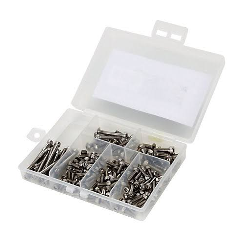 Dynamite Screw Set - Stainless Steel. 2mm, 3mm
